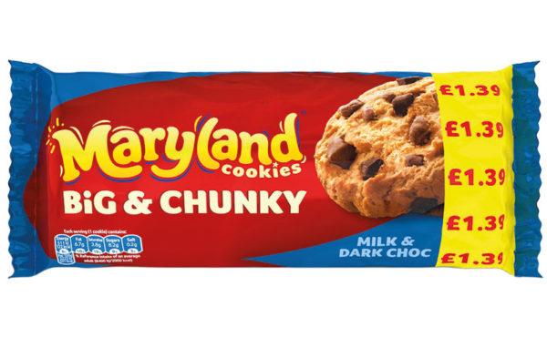Bigger cookies