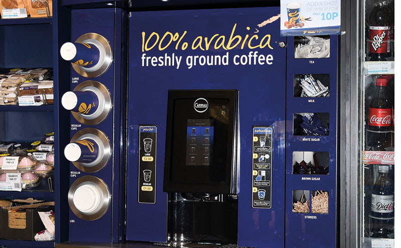 Peterhead coffee stand