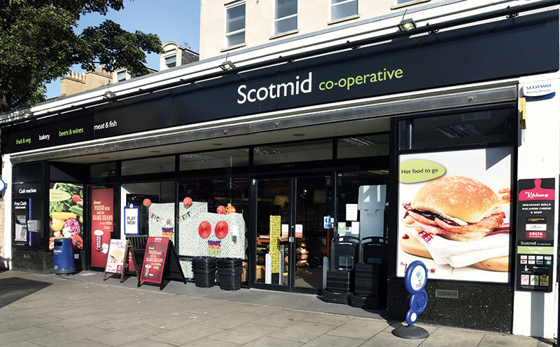 Scotmid Stockbridge sits in the heart of an affluent part of the north of Edinburgh and boasts a steady stream of loyal customers, despite significant competition in the area.