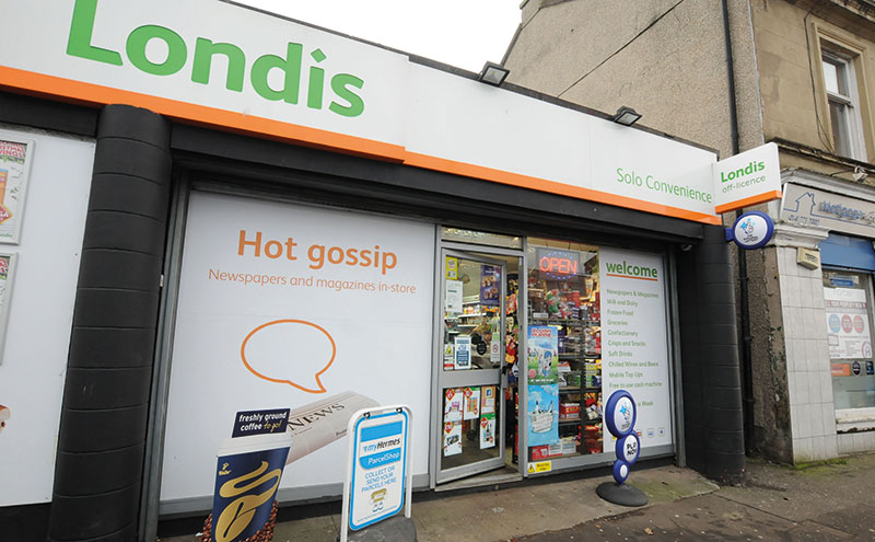 Londis Solo Convenience, Baillieston. With a dozen shops within short walking distance, including a Lidl and Morrisons, Natalie and her team need to be at the top of their game.
