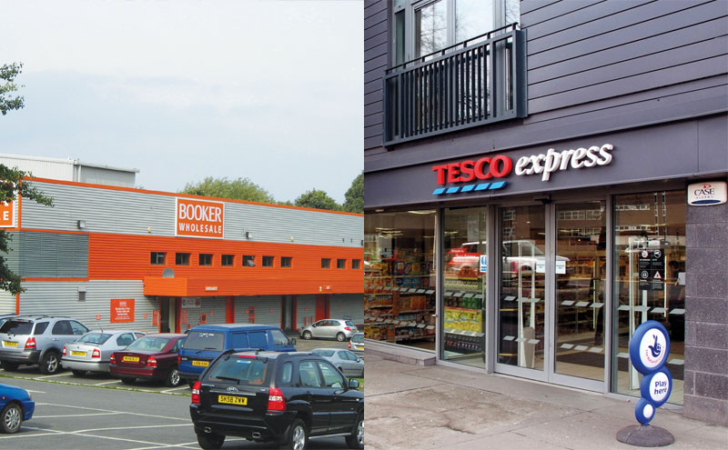Tesco / Booker Stores