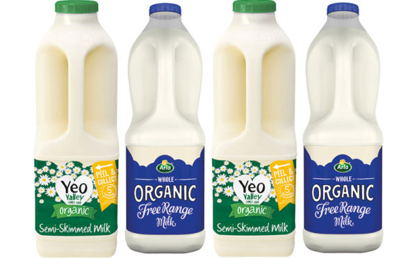 Snapping up organic milk