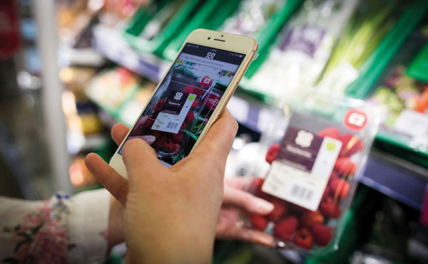Co-op trial for appy shoppers