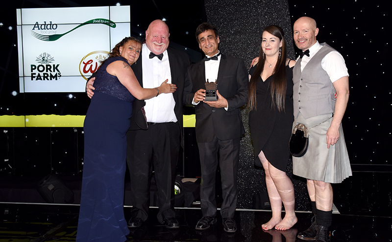 Food-to-Go Award, supported by Addo Food Group Spar, Renfrew