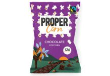Propercorn chocolate share bag