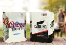Carling and Coors Light