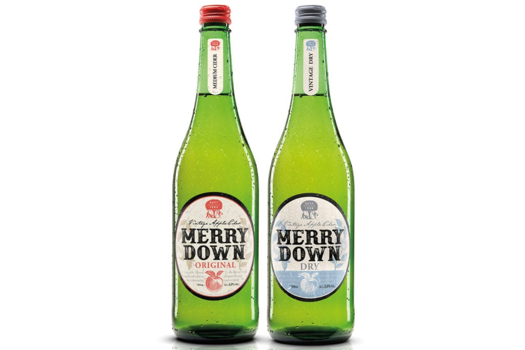 Merrydown Original and Dry