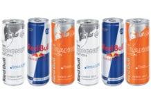 Red Bull price marked packs
