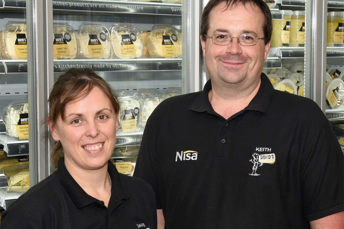 David's Kitchen director Diane Greenough and MD Keith Fernie