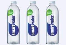 3x smart water bottles