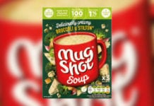 mug shot soup box