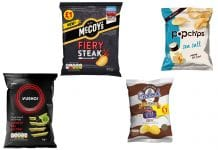 Various crisp brands