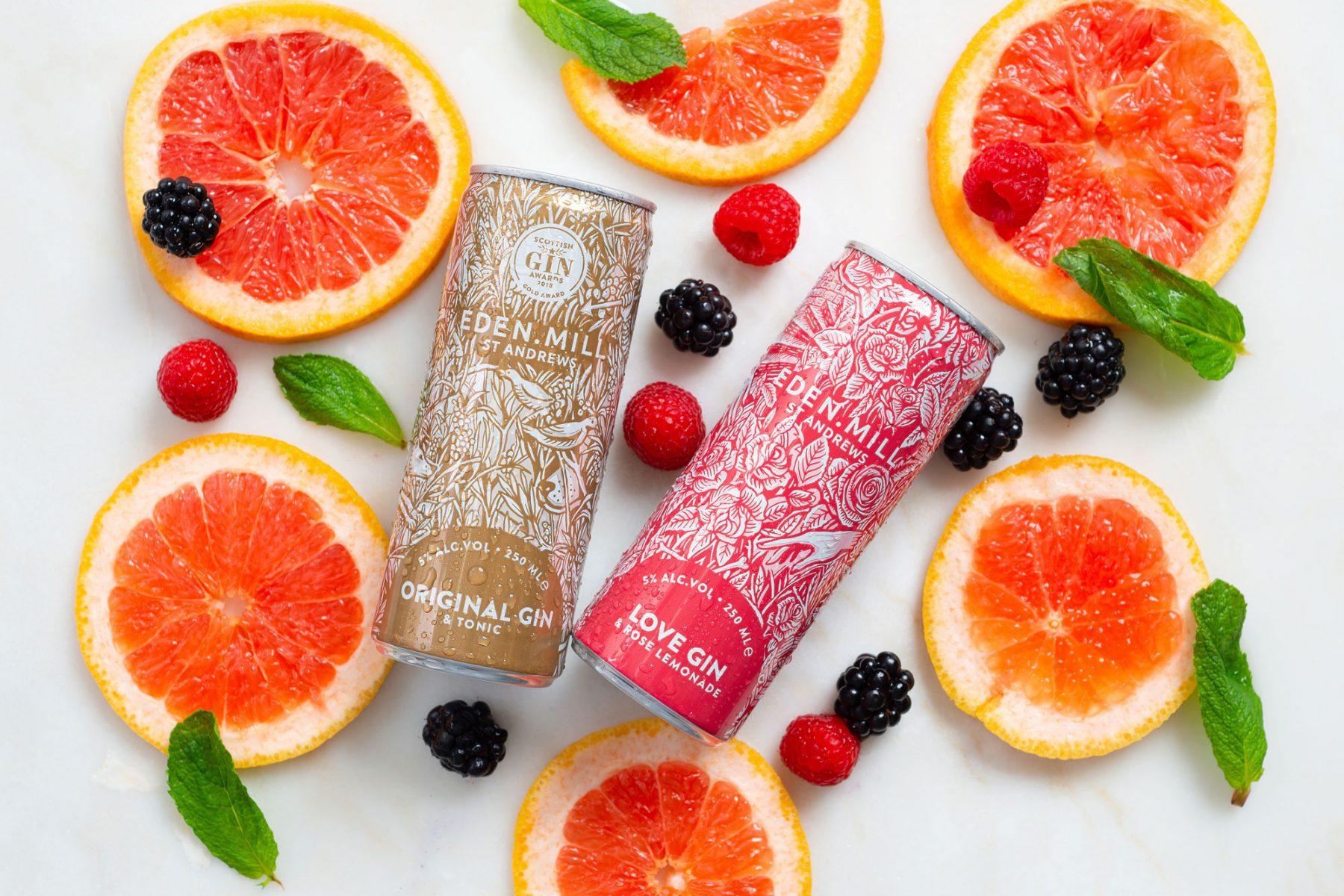 oranges & eden mill cans
