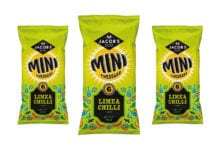 Mini Cheddars lime and chilli