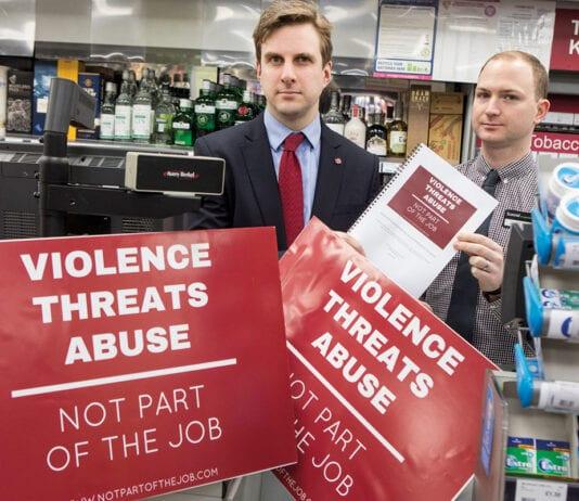 Daniel Johnson MSP promoting retail crime bill
