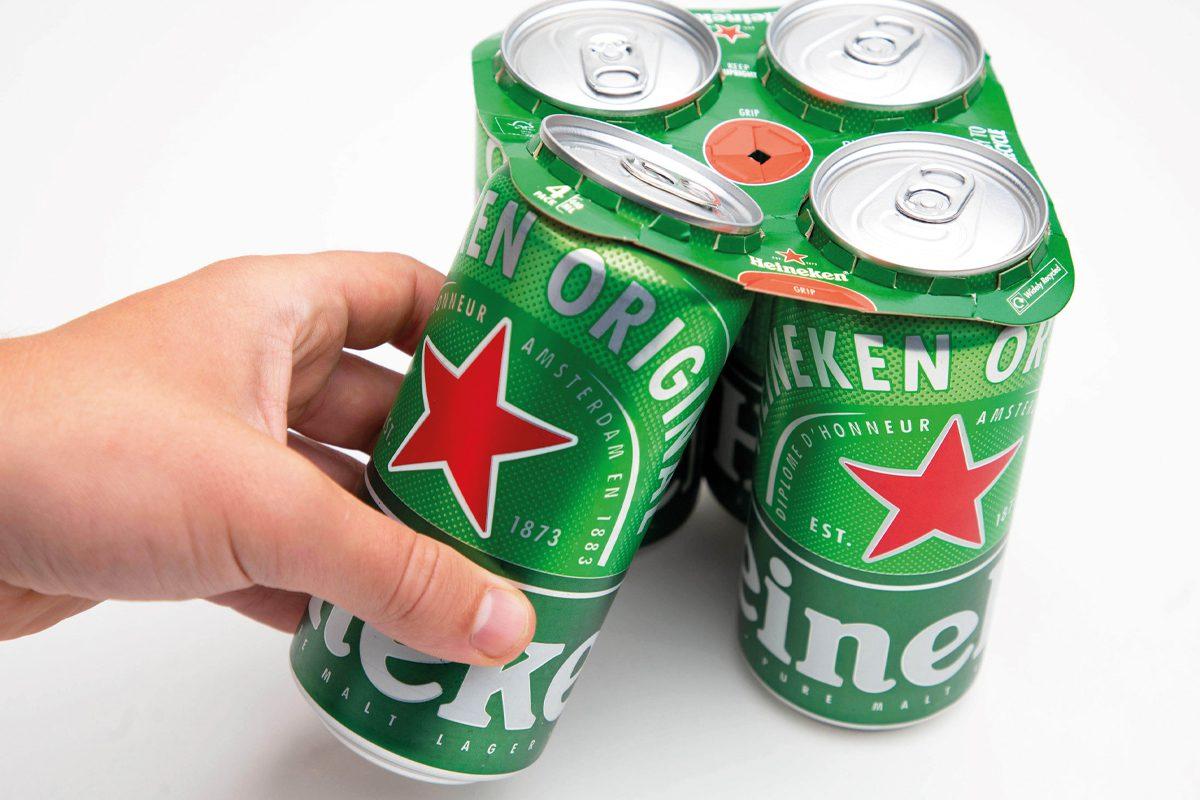 Heineken green grip
