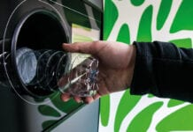 A DRS reverse vending machine