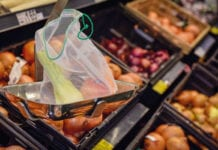 Asda no fruit veg bags trial