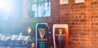 Alcohol free Guinness cans