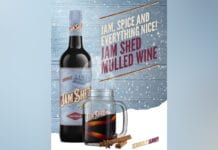 Jam Shed mulled wine advert