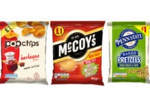 KP snacks range
