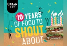 Urban Eat ten year anniversary poster