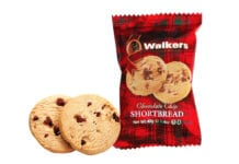 Walkers shortbread packaging