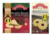 Paterson's shortbread packages