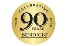 Bendicks 90th anniversary logo