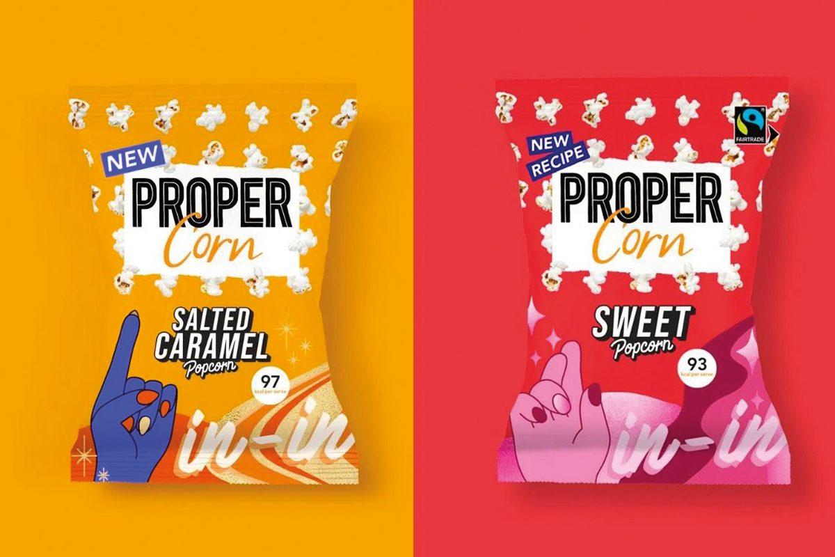 Proper corn flavours