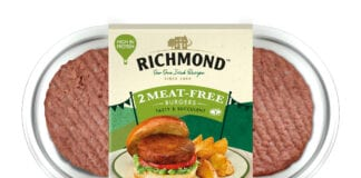 Richmond meat free burgers