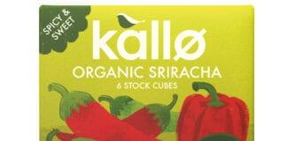 Kallo organic sriracha stock cubes