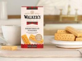 Walkers shortbread display