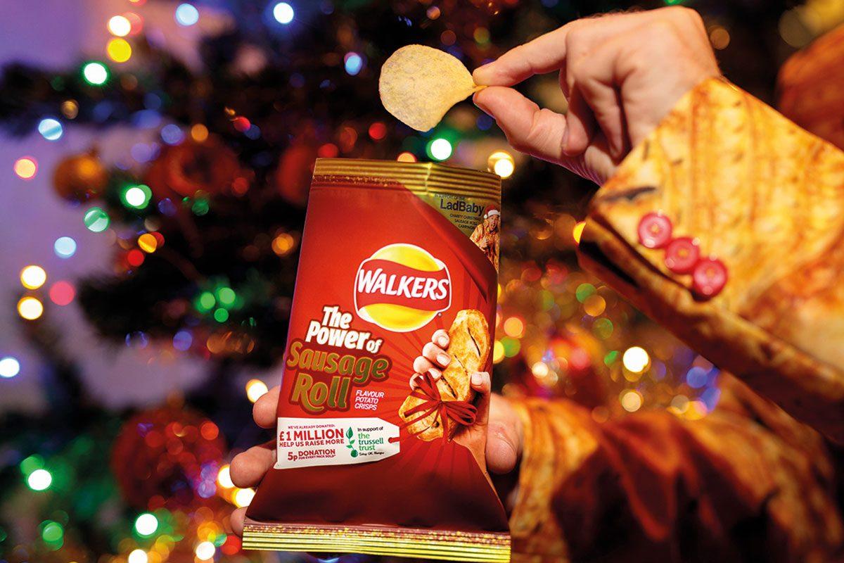Walker's festive packets