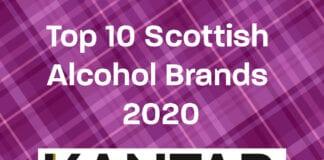top 10 Scottish alcohol brands 2020