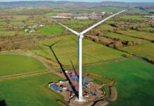 Budweiser South Wales wind turbine